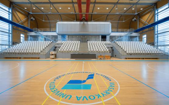 Fakulta sportovních studií v kampusu MUNI