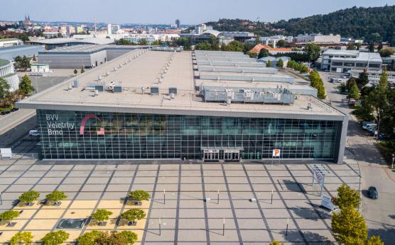 Pavilon P na brněnském výstavišti: naše největší stavba