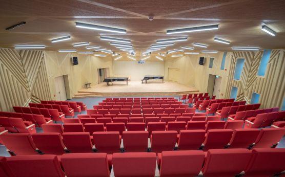 Rekonstrukce koncertního sálu konzervatoře