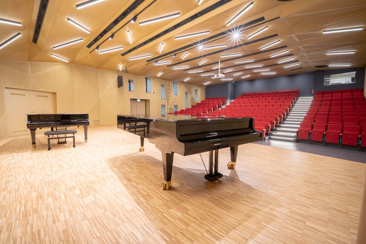 KONZERVATOŘ BRNO - Koncertní sál